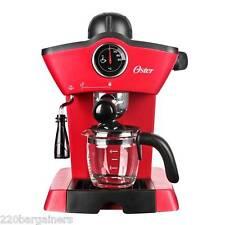 Oster NEW 220 Volt Cappuccino Maker & Espresso 220V 240V Europe Asia BVSTEM4188