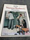 VINTAGE BOOK OF POSTERS!! Norman Rockwell Favorites Large Suitable For Framing