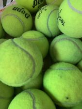 40 Used Tennis Balls Many Uses! Chair Leg Covers, Dog Ball, Practice Ball