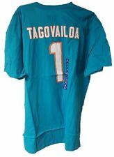 Men's Nfl Miami Dolphins Tua Tagovailoa T-Shirt Nwt Various Sizes