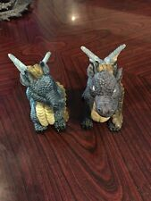 Two Lovely Miniature Baby Dragon Figures
