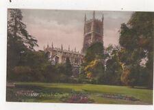Cirencester Parish Church Vintage Postcard 803a