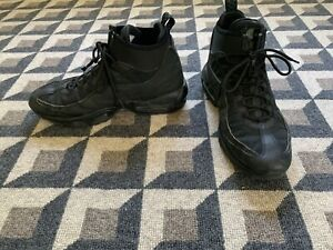 Nike Air Max 95 Sneakerboot Triple Black 806809-002 Size 9.5 US