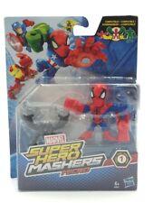 figurine marvel super hero mashers micro spider-man 6 cm neuve hasbro