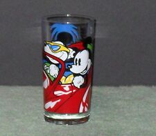 1988 MICKEY & MINNIE PROMO GLASS. WALT DISNEY PRODUCTIONS **EXCELLENT CONDITION*
