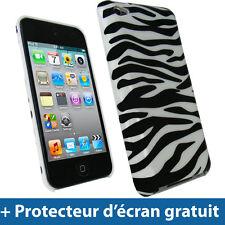 Noir Coque Rigide pour Apple iPod Touch 4G 4ème iTouch Bumper Housse Etui Cover
