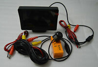 4,3 pulgadas de monitor pantalla con cámara de aparcamiento camara trasera