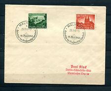 Dt. Reich FDC Nr. 748 - 749  Sonderstempel Malmedy   (DO-1)