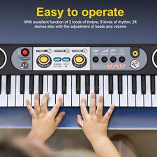 Tastiera Elettronica Pianoforte Digitale 37 Tasti Piano Con Microfono