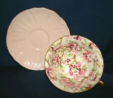 Shelley Pink Maytime Chintz Oleander Cup & Saucer