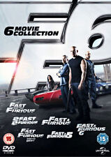 Fast and Furious 1-6 (DVD, 2013, 6-Disc Set, Box Set)
