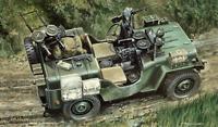 Italeri 320 Commando Car 1/35 Scale Plastic Model Kit