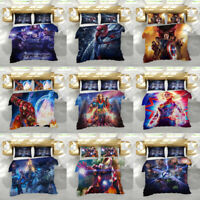 3D The Avengers Design Bedding Set 2PC/3PC Duvet Cover Quilt Cover Pillowcase
