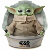 "Star Wars Mandalorian The Child 11"" Plush Baby Yoda Doll By Mattel"