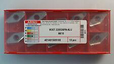 VCGT 160408FN-ALU AK10 ARNO Wendeplatten NEU inkl.19% MwSt.