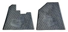Peterbilt 379 Floor Mat Set (Black 2 PCS)  Heavy Duty (2004 or Older)
