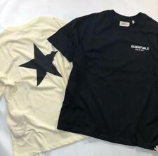 19 NEW MEN Fear of God Fog Essentials Pentagonal star Short Sleeve T-shirt