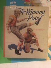 THE WINNING POINT HARDCOVER Saalfield Big Little Book 1122