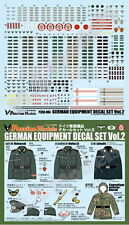 Passion Models 1/35 WWII German Army Equipment Decal set #2 (water-slide)