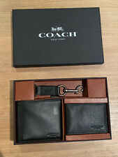 Coach Men's Leather Wallet Set - Brand New With Tags - Unwanted Gift