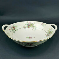 Theodore Haviland New York Apple Bloss Vegetable Serving Bowl Double Handle
