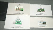 1999 Mercedes Benz A Class A140 A160 A60 CDI A170 CDI W168 Owners Manual Set