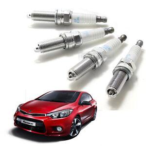 OEM Parts Engine Ignition Spark Plug 18846-11070 4P for KIA 2014-2018 Forte koup