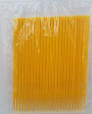 25pcs Yellow Microbrush, Model making, Paint, glue  UK Seller
