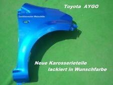 Toyota Aygo Kotflügel NEU in Wagenfarbe Lackiert vorn Rechts//Links 2005-2009