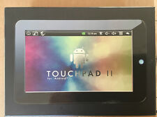CnM Touchpad II. 7 inch 600MHz ARM 11 Tablet Black. Surf, Emails, ebook Reader