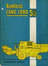 Combine Bamfords Land Lord 55,  Laverda mietitrebbia M 120, instruction manual