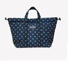 New Jack Wills Shipstone Mini Drawstring Shopper Daisy bag/women's handbag/navy