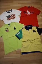 POLO RALPH LAUREN Jungen Designer T Shirts Kleiderpaket Gr M 146 L 158 Logoprint