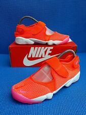 GORGEOUS!! Nike air RIFT BR Breathe orange pink  RARE!!...uk size 8.5 IMMACULATE