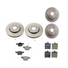 Mercedes Benz E300 Front and Rear Disc Brake Rotors and Pads Bosch / Brembo