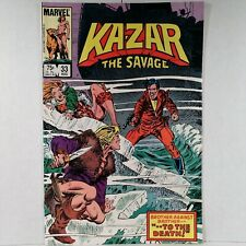 Ka-Zar the Savage - Vol. 1, No. 33 - Marvel Comics - August 1984 - Buy It Now!
