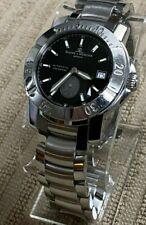 Baume & Mercier Cape 41mm Diver Men's Automatic Black Dial Wrist Watch Ref 65353