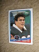1988 Topps #83 Dan Hampton Chicago Bears  NrMt