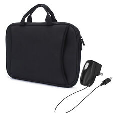 """Black 9.7"""" - 10.1"""" Handle Sleeve Pouch Bag For Samsung Lenovo Ipad Asus Dell HP"""