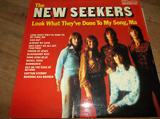 The New Seekers Look What They've Done To My Song, Ma LP UK 1972 EX