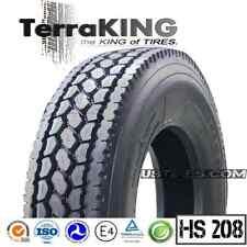TerraKING HS208 - 295/75R22.5 / 16 PLY PREMIUM DRIVE / REAR / SEMI TRUCK TIRES