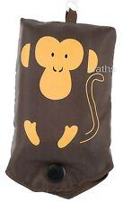 Fizz Creation Eco Brown Reusable Bag with Monkey Theme 4001