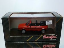 DETAILCARS 273 W VOLKSWAGEN GOLF I - CABRIOLET - RED 1:43 - EXCELLENT IN BOX
