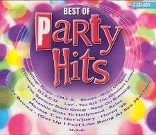 Best of Party Hits - 3 CD NUOVO Icehouse Village People Ottawan Luv Nick Straker