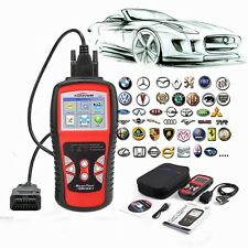 Automotive OBDII Code Reader/ Erase Scanner Car Check Engine Light I/M Readiness