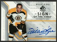 2006-07 SP Authentic Sign of the Times WILLIE O'REE Autograph Boston Bruins