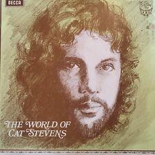 "The World of CAT STEVENS...1970 Australian DECCA 12"" LP - - Matthew and Son"
