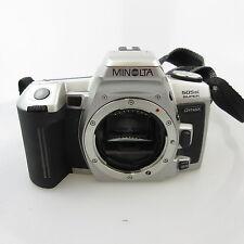 Minolta Dynax 505si super SLR mit Gurt, ohne Batterien und body cap