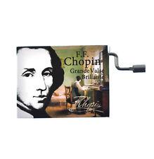"""Chopin in a Box - """"Grande Valse Brillante""""  Handcrank Music Box"""