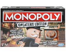 Hasbro Games MONOPOLY: CHEATERS EDITION Officially Licensed NIB/Sealed